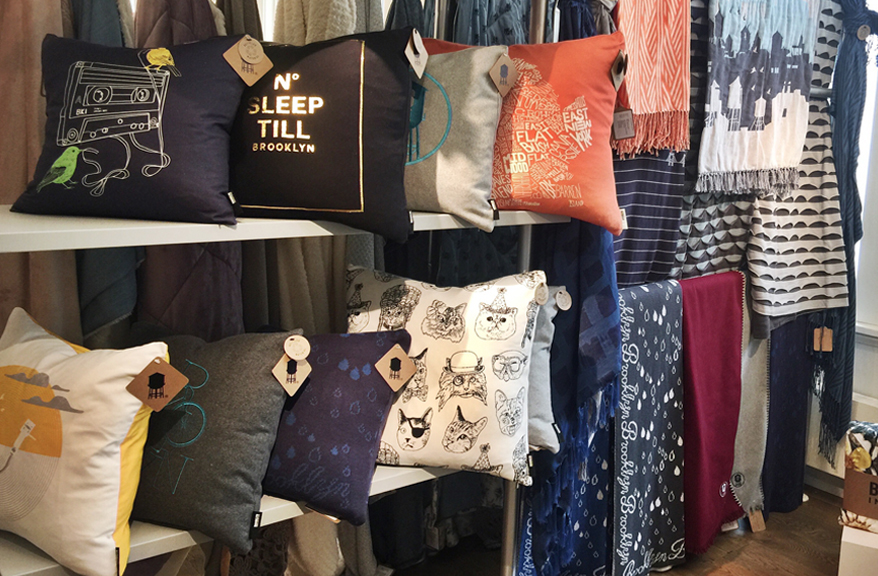Brooklyn Industries Pillows and Throws by Berkshire Blanket & Home Co.